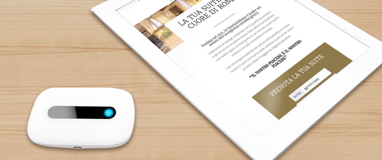 YourSuiteRome - Servizi - Services - Mobile Wi-fi